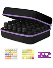 Essential Oil Storage,30 Bottles,Essential Oil Holder Case, JSVER Essential Oil Case for 5ml, 10ml, 15ml Bottles Hard Travel Storage Organizer Bag for doTerra, Young Living Oils, Premium, Aromatherapy