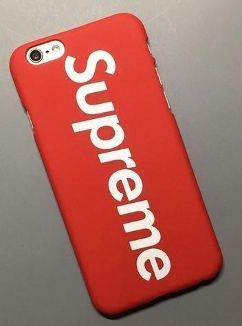 coque iphone 7 plus supreme rouge