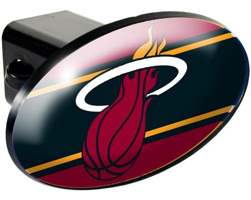 (NBA Miami Heat Trailer Hitch Cover)