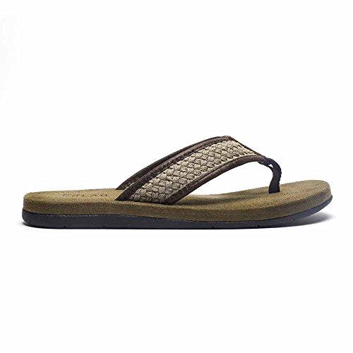 Crevo Brockhill Mens Sandalo Taupe