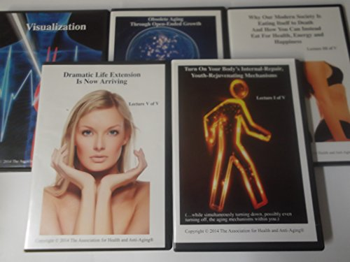 41Fo6NzdO1L - The Association of Health and Anti Aging Lectures 1-5 Audiobook