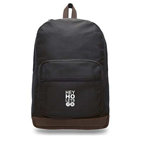 b4e6c4541a26 on sale Hey Ho Lets Go Pokemon Go Plus Teardrop Backpack with Leather  Bottom Accents