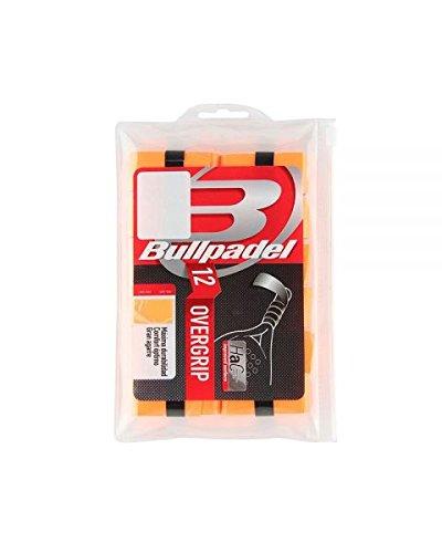 Bull padel OVERGRIP BULLPADEL PACK 12 UNDS BG-1600 NARANJA FLUOR