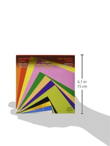 Yasutomo 4103 4103 Craft Supplies Fold Ems Origami Paper 55//Package-Assorted Colors
