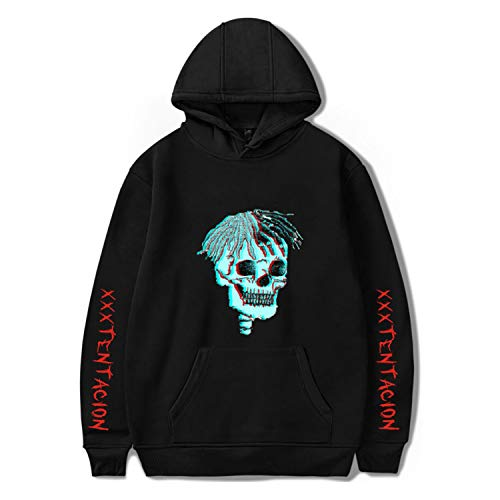 DHSPKN Xtentacion Memorial Hoodie Rapper Pullover Jacket Hiphop Hooded Sweater Rap Sweatshirt