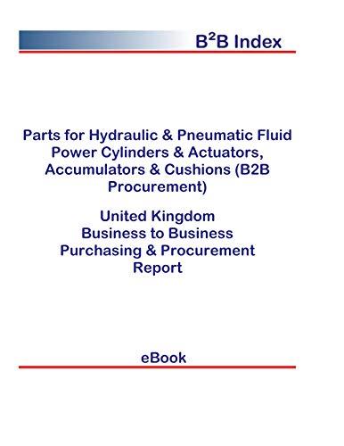 Parts for Hydraulic & Pneumatic Fluid Power Cylinders & Actuators, Accumulators & Cushions (B2B Procurement) in the United Kingdom: B2B Purchasing + Procurement Values