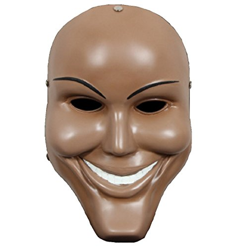 K.N. The Purge Similar Role Play Mask horror Killer Halloween Party Cosplay Costume Masquerade (brown) - Killer Mask