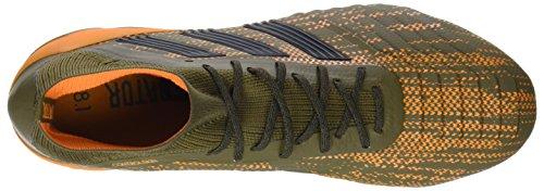 Adidas Mannen Roofdier 18.1 Fg Voetbalschoenen Groen (traceren Olive / Kern Zwart / Fel Oranje)