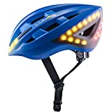 Lumos Smart Bike Helmet with Wireless Turn Signal Handlebar Remote and Built-in Motion Sensor – 70 LEDs on Front, Rear and Sides – up to 6 hrs Battery Life – CPSC and CE Certified Helmet