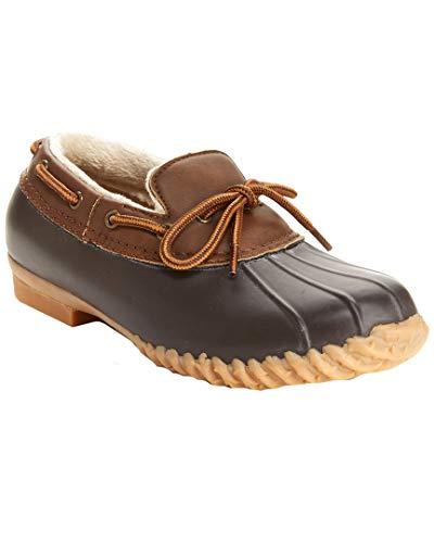 JBU by Jambu Women's Gwen Rain Shoe, Brown, 7.5 M US