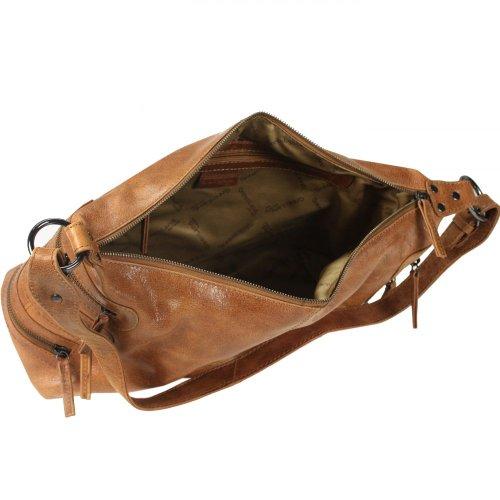 Bolso marrón Greenland para marrón cruzados mujer gnxAFq