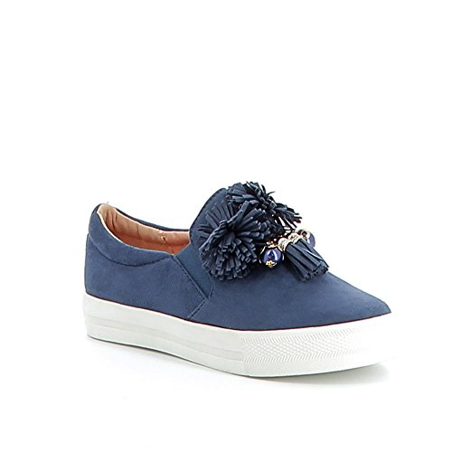 Misstic - Zapatillas de Deporte de Lona Mujer Azul