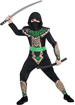 Magic Box Traje de Ninja para niños tamaño Dragon Slayer ...