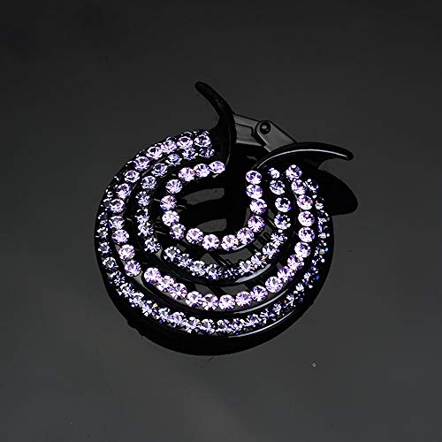 WensLTD Clearance! Women Girls Hair Clips Nest Rhinestone Hairpin Ponytail Bun Holder Accessory (E) by WensLTD (Image #3)