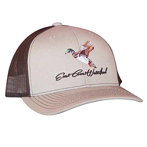 East Coast Waterfowl Woodie - Trucker Hat Khaki/Brown