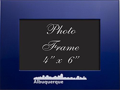 Albuquerque, New Mexico-4x6 Brushed Metal Picture - Albuquerque Stores