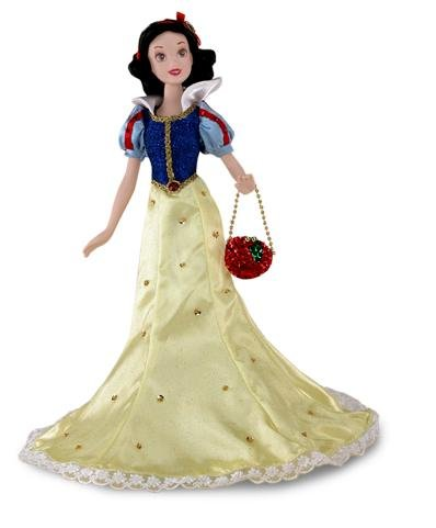 Disney Princess Special Edition Sihlouette Snow White and the Seven Dwarfs Porcelain Doll ()