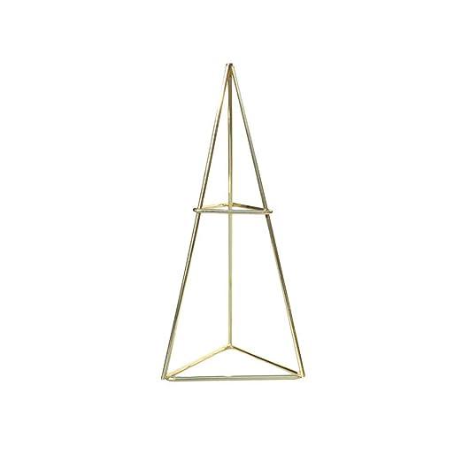 Botellero con forma de triángulo, perchero de hierro forjado ...