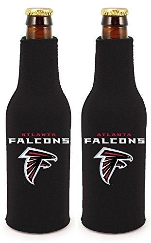 NFL Football 2014 Team Color Logo Bottle Suit Holder Cooler 2-Pack (Atlanta Falcons)