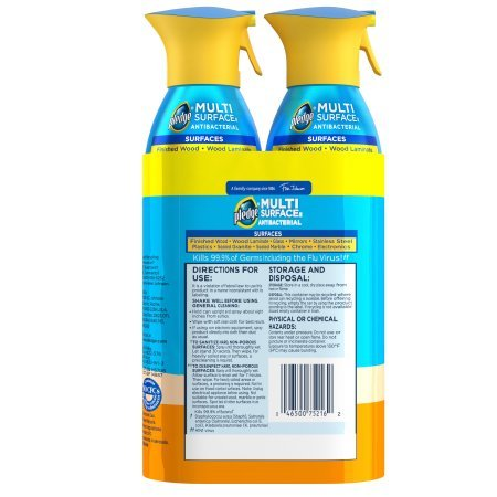Pledge Multi Surface Antibacterial Everyday Cleaner 9.7 Ounces (2 Pack) by Pledge