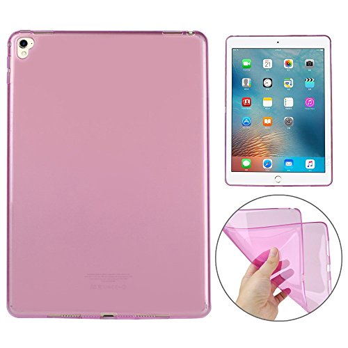 Price comparison product image AutumnFall Ultra-thin Scratch Resistant Soft TPU Case Cover for Apple iPad Pro 9.7 inch (Pink)