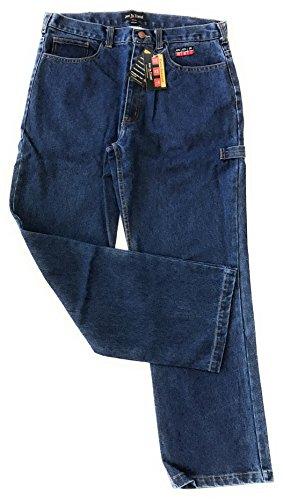 Flame Resistant FR Denim Jeans - 100% C (W44 x L36, Medium Denim Blue) (Protective Bulwark Apparel)