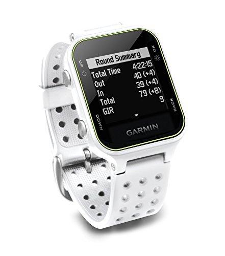 Garmin Approach S20 Golf Watch - White (Certified Refurbished) by Garmin