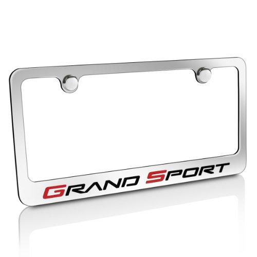 Chevrolet Corvette C6 Grand Sport Chrome Metal License Plate Frame