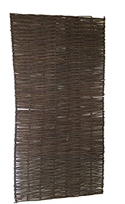 Master Garden Products Willow Hurdle Panel, 3 by 6-Feet