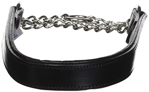 Leather Martingale Dog Collar, Choker, 18