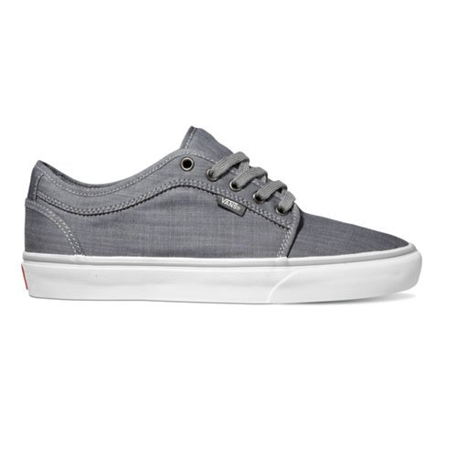 Vans Men's Chukka Low Chambray Grey White 13.0