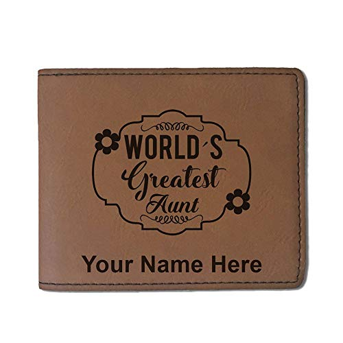 Faux Leather Wallet, World