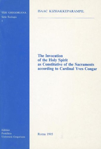 The Invocation of the Holy Spirit as constitutive