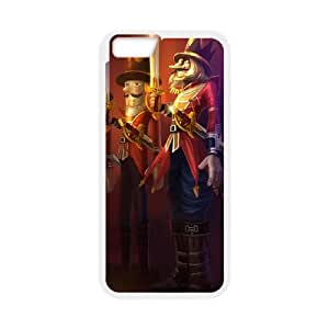 iPhone 6 Plus 5.5 Inch Cell Phone Case White League of Legends Nutcracko AF4145737