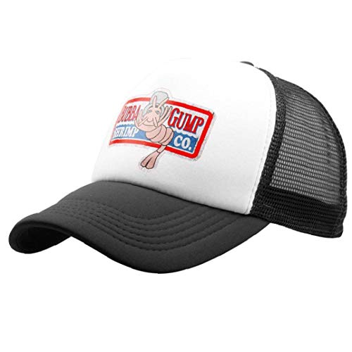 Aisoway Adjustable Embroidered Gump Baseball Cap Hats Running Costume Black -