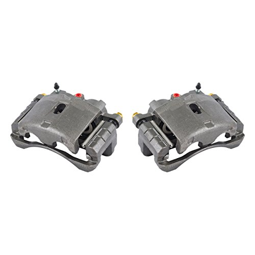 [ 2 ] Premium Grade OE Semi-Loaded Caliper Assembly Pair Set ()