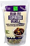 Grain Free Superfood Granola Sweetened with Yacon Syrup (Almonds, Cashews, Hazelnuts, Pumpkin Seeds, Sunflower Seeds) – 6g Protein 2g Sugar Low GI Low Carb – Gluten Free, Non GMO, Paleo, Vegan