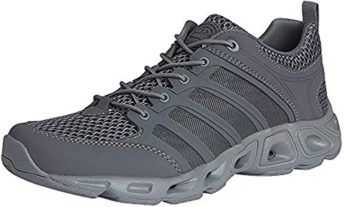 HANAGAL Men's Otarriinae Ultralight Hiking Shoe (10.5, Gray)