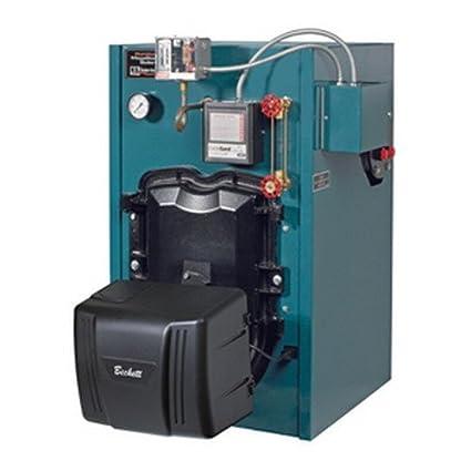 Burnham MST MegaSteam 3-Stage Oil Fired Boiler Less Tankless Coil ...