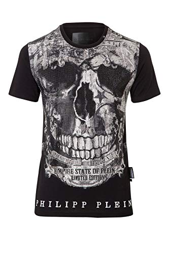 Philipp T Noir Plein Black shirt Homme 3lJcKF1T