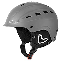 Protecting yourself from injury whilst skiing or snowboarding is very important and a helmet is arguably the most important part of your ski or snowboard gear. This TurboSKE helmet has a hard ABS shell and an EPS foam liner glued to the insid...