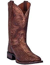 Men's Ka Western Boot Wide Square Toe Brown 12 D