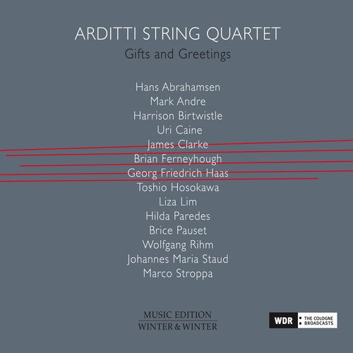 Gifts and Greetings - Arditti String Cd