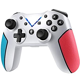 Switch Controller, Diswoe Controller for Nintendo Switch/Switch Lite, Wireless Switch Pro Controller for Nintendo with Auto-Fire Turbo,Motion Control,Dual Shock for Nintendo Switch Controller