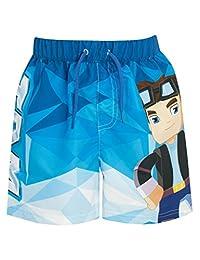 Tube Heroes Boys Dan TDM Swim Shorts