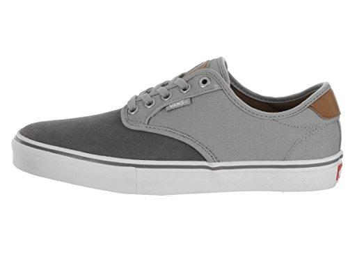 Zapatillas De Skate Vans Hombres Chima Ferguson Pro (two-tone) / Gris