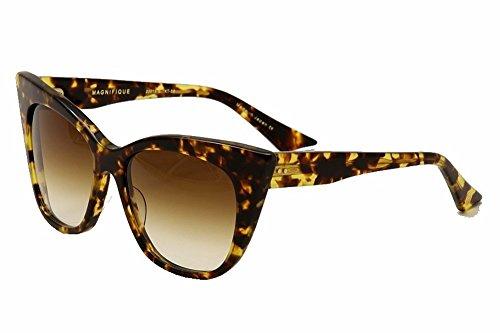 Dita Women's Magnifique 22015B 22015-B Tokyo Tortoise Cateye Sunglasses - Sunglass Dita