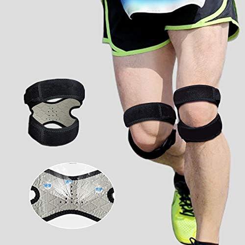 Ruiyue Kneepadスポーツバスケットボールスクワットランニングフィットネスメニスカス保護膝の両側仙骨ベルト保護女性の男性