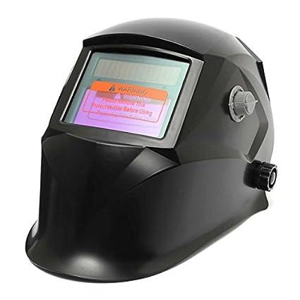 Negro Solar máscara para soldar soldadura eléctrica auto-careta para soldar
