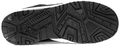 ELTEN Maverick Black Low S3 Herren Sicherheitsschuhe, Arbeitsschuhe, Sicherheitshalbschuh, Zertifiziert Nach En ISO 20345 : S3, Stahlkappe Schwarz